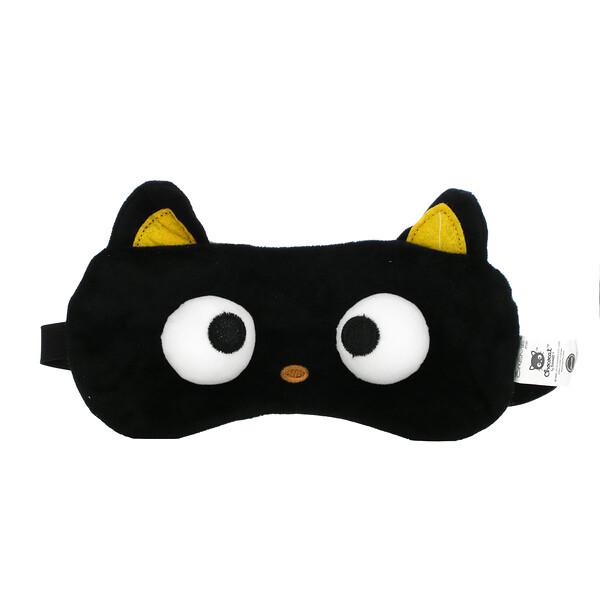 Plushie Sleep Mask, Chococat, 1 Piece, 3.17 oz (90 g)