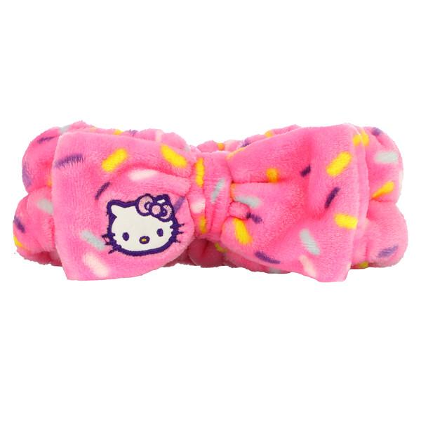 Hello Kitty Plush Spa Headband, Celebrate, 1 Count