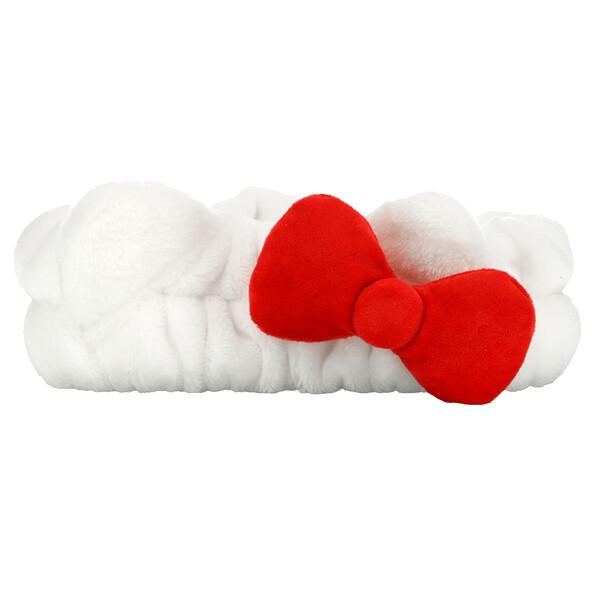 The Creme Shop, Hello Kitty Plush Spa Headband With Signature Bow, 1 Piece