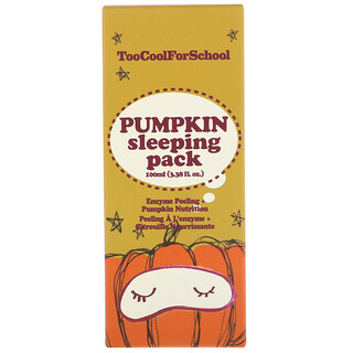Too Cool for School, Pumpkin Sleeping Pack, 3.38 fl oz (100 ml)