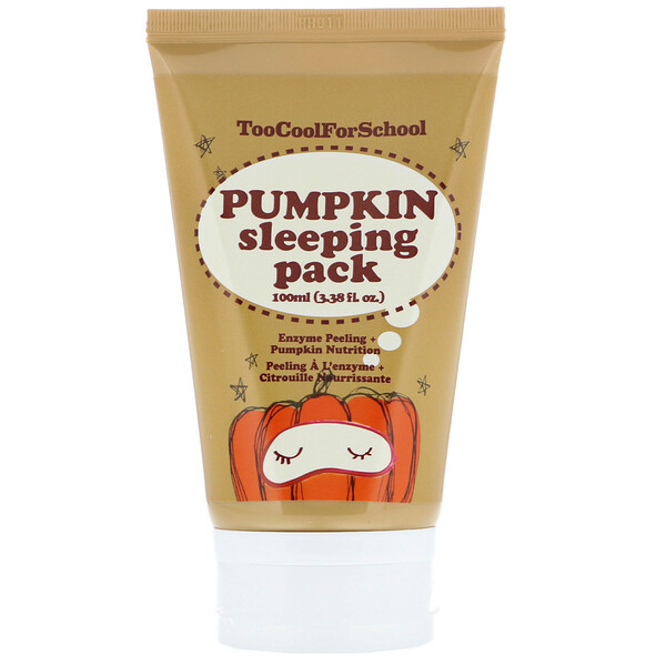 Pumpkin Sleeping Pack, 3.38 fl oz (100 ml)