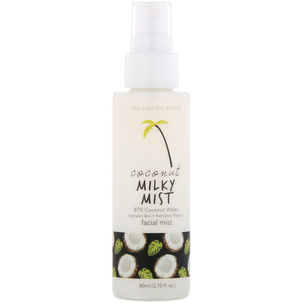 Coconut Milky Mist, Facial Mist, 2.70 fl oz (80 ml)