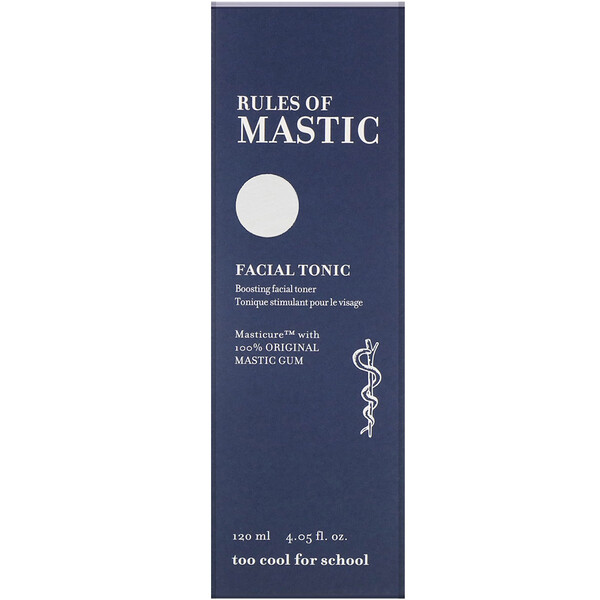 Too Cool for School, Rules of Mastic, Facial Tonic, 4.05 fl oz (120 ml)