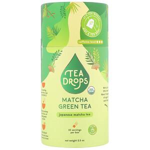 Tea Drops, Matcha Green Tea, 2.5 oz отзывы