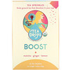 Tea Drops, Tea Sprinkles, Boost, 12 Tea Packets, 1.05 oz (30 g)