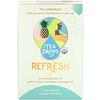 Tea Drops, Tea Sprinkles, Refresh, Caffeine Free, 12 Tea Packets, 1.26 oz (35.7 g)