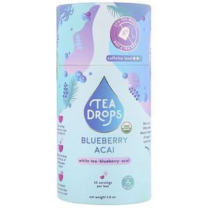 Tea Drops, Blueberry Acai White, 1.8 oz отзывы