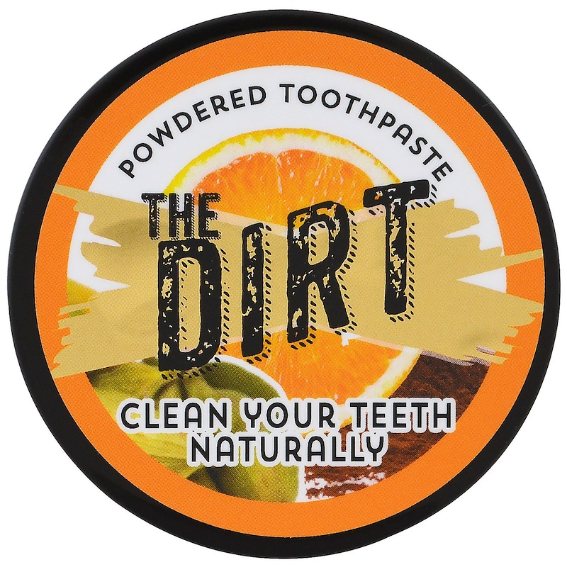 The Dirt, Powdered Toothpaste, 3 Months Supply,  .88 oz (25 g)