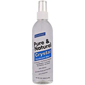 Тай Деодорант Стоне, Pure & Natural, Crystal Deodorant Mist, Unscented, 8 oz (240 ml) отзывы покупателей
