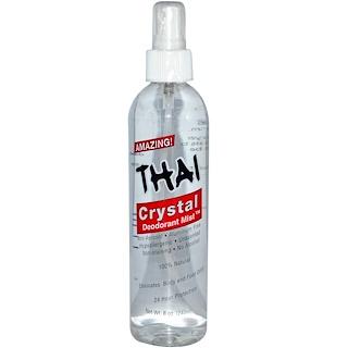 Thai Deodorant Stone, クリスタル・デオドラント・ミスト (240 ml)