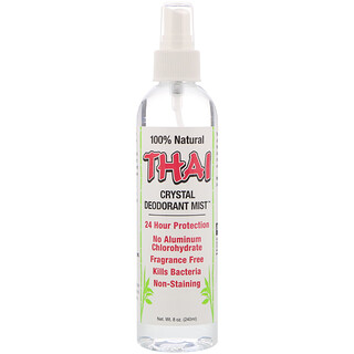 Thai Deodorant Stone, Kristall-Deospray, 8 oz (240 ml)