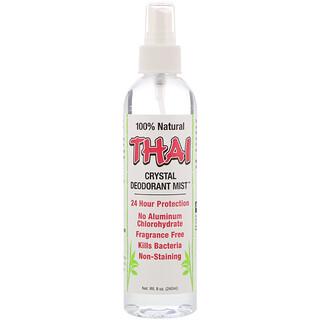 Thai Deodorant Stone, مزيل عرق ميست الكريستال، 8 أونصة (240 مللي)