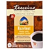 Teeccino, Chicory Herbal Tea, Medium Roast, Hazelnut, Caffeine Free, 10 Tee-Bags, 2.12 oz (60 g)