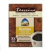 Teeccino, 焙煎ハーブティー、ミディアムロースト、ヘーゼルナッツ、カフェインフリー、ティーバッグ10袋、60g(2.12 oz)