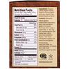 Teeccino, Té de hierbas tostado, tueste medio, avellana, sin cafeína, 10 bolsitas de té, 2.12 oz (60 g)