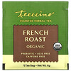 Teeccino, Organic Roasted Herbal Tea, French Roast, Caffeine Free, 25 Tea Bags, 5.3 oz (150 g)
