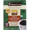 Teeccino, Organic Roasted Herbal Tea, Maca Chocolate, Dark Roast, Caffeine Free, 10 Tea Bags, 2.12 oz (60 g)