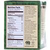Teeccino, Té de hierbas asadas orgánicas, chocolate, asadas y oscuras, sin cafeína, 10 bolsitas de té, 2.12 oz (60 g)