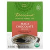 Teeccino, Organic Roasted Herbal Tea, Maca Chocolate, Caffeine Free, 10 Tea Bags, 2.12 oz (60 g)