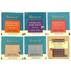 Teeccino, Dandelion Herbal Tea Sampler, 6 Flavors, Caffeine Free, 12 Tea Bags, 2.54 oz (72 g)