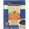 Teeccino, Roasted Herbal Tea, Dandelion Caramel Nut, Caffeine Free, 10 Tea Bags, 2.12 oz (60 g)