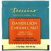 Teeccino, Roasted Herbal Tea, Dandelion Caramel Nut, Caffeine Free, 25 Tea Bags, 5.3 oz (150 g)