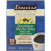 Teeccino, Roasted Herbal Tea, Dandelion Mocha Mint, Caffeine Free, 10 Tea Bags, 2.12 oz (60 g)