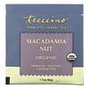 Teeccino, Té de hierbas prebiótico, Nuez de macadamia, Sin cafeína, 10bolsitas de té, 60g (2,12oz)