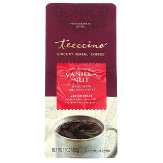Teeccino, Chicory Herbal Coffee, Vanilla Nut, Medium Roast, Caffeine Free , 11 oz (312 g)