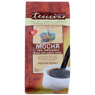 Teeccino, Café de hierbas mediterráneo, moca, semi tostado, sin cafeína, 11 oz (312 g)
