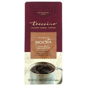 Теессино, Chicory Herbal Coffee, Mocha, Medium Roast, Caffeine Free, 11 oz (312 g) отзывы