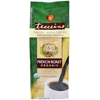 Teeccino, Organic French Roast, Dark Roast, Caffeine Free, 11 oz (312 g)