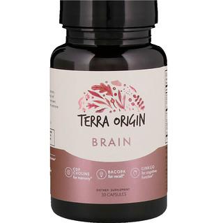 Terra Origin, Brain, 30 Capsules