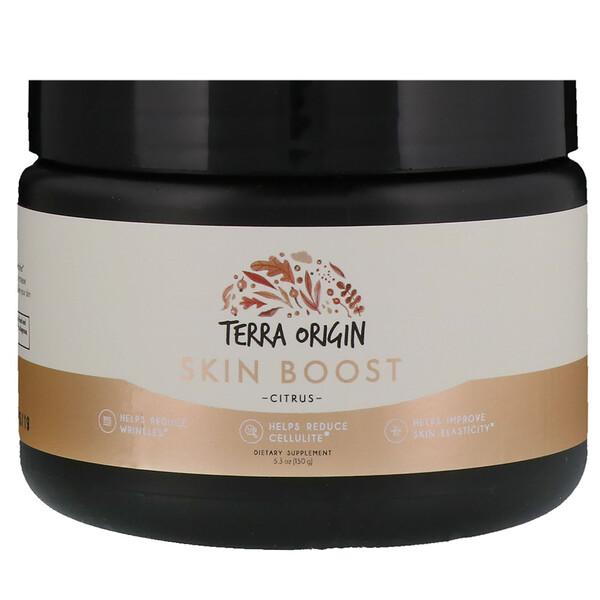 Terra Origin, Skin Boost Powder, Citrus, 5.3 (150 g) (Discontinued Item)