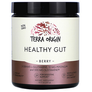 Terra Origin, Healthy Gut, Berry, 8.57 oz (243 g) отзывы