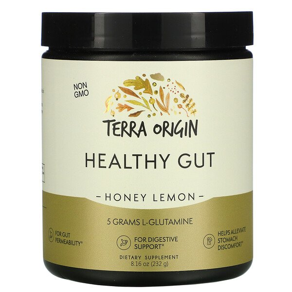 Healthy Gut, Honey Lemon, 8.16 oz (232 g)