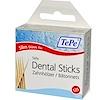 TePe Oral Health Care, Dental Sticks, Birch Wood, Slim, 125 Pieces (Discontinued Item)