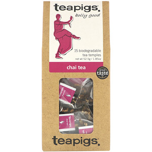 TeaPigs, Bolly Good, Chai Tea, 15 Tea Temples, 1.85 oz (52.5 g) отзывы