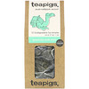 TeaPigs, Marrakesh Mint, Green Tea with Mint, 15 Tea Temples, 1.3 oz (37.5 g)