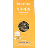 Happy Herbal Tea with Lemon Balm, Caffeine-Free, 15 Tea Temples, 1.32 oz (37.5 g)