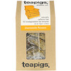 TeaPigs, Dream On, Chamomile Flowers, Caffeine Free, 50 Tea Temples, 2.64 oz (75 g)