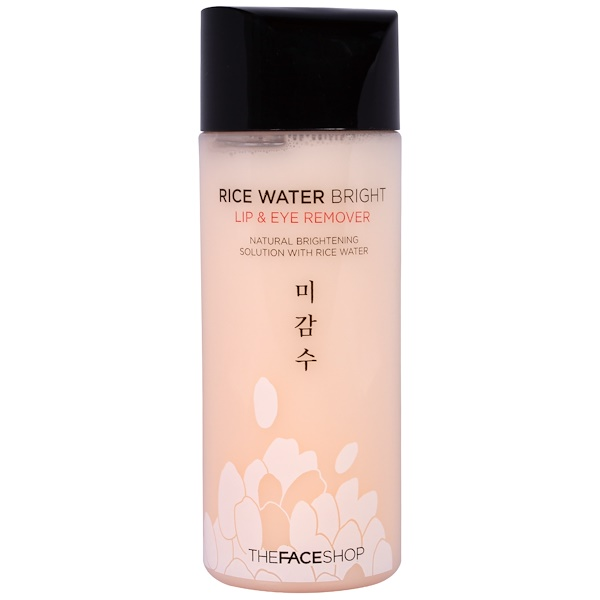 The Face Shop, Rice Water Bright, Lip & Eye Remover, 4.05 fl oz (120 ml) (Discontinued Item)