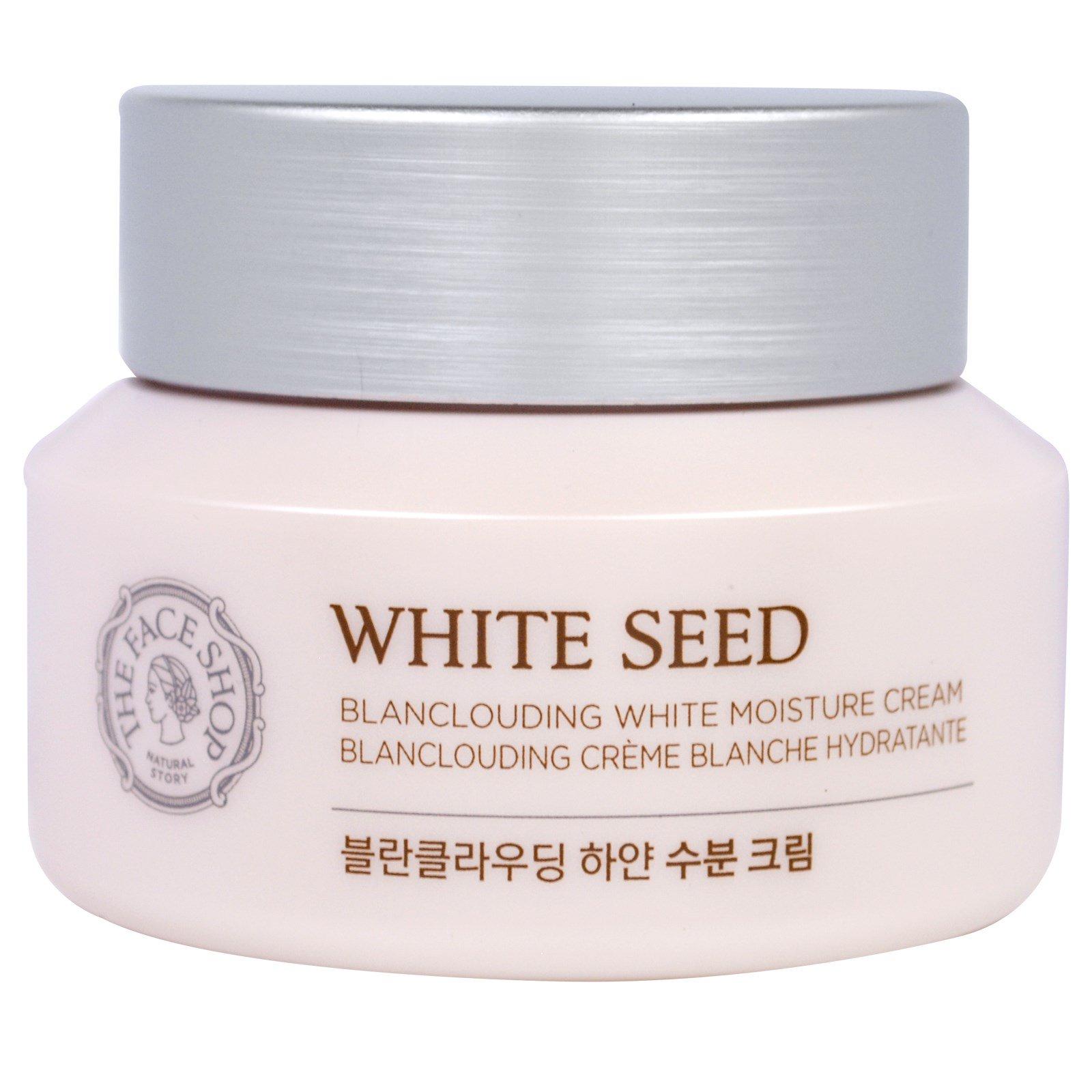 The Face Shop, Увлажняющий крем White Seed, Blanclouding White, 1,69 жидк. унций (50 мл)