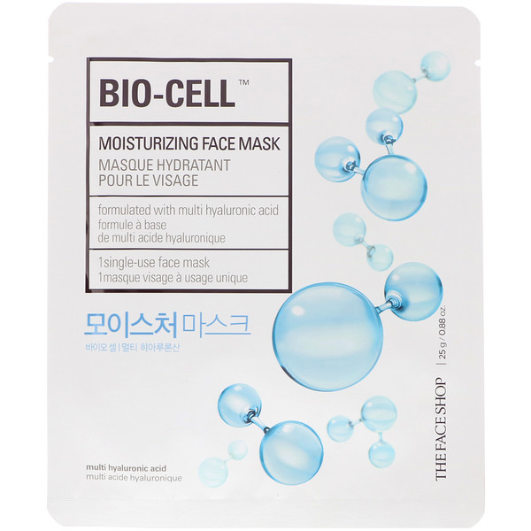 The Face Shop, Bio-Cell, Moisturizing Face Mask, 1 Sheet, 0.88 oz (25 g)