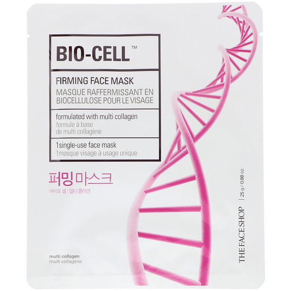 Bio-Cell, Firming Face Mask, 1 Sheet, 0.88 oz (25 g)