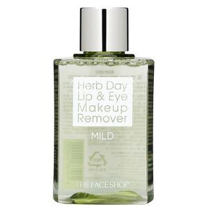Зе Фасе Шоп, Herb Day Lip & Eye Makeup Remover, Mild, 4.4 fl oz (130 ml) отзывы