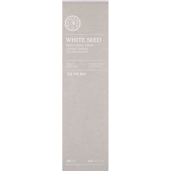 The Face Shop, White Seed, Brightening Toner, 4.9 fl oz (145 ml) (Discontinued Item)