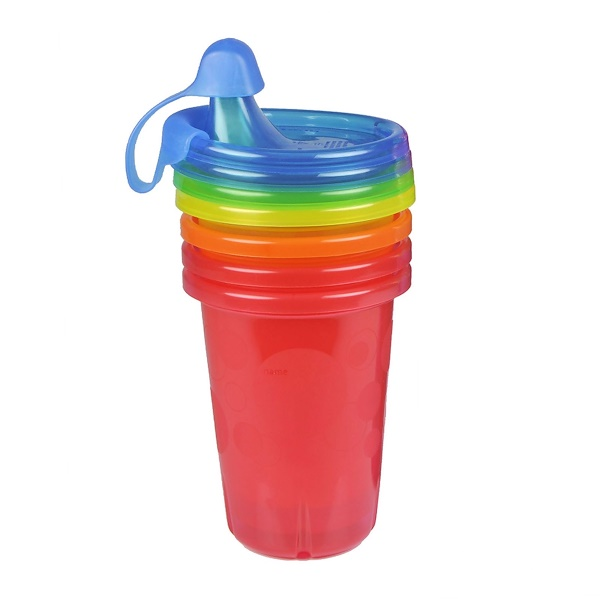 The First Years, Take & Toss, Sippy Cups, 9+ Months, 4 Pack - 10 oz (296 ml) Each (Discontinued Item)