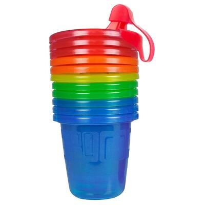 Купить Take & Toss, чашки-непроливашки, 6+месяцев, 6 шт. - 7 унций(207 мл) каждая