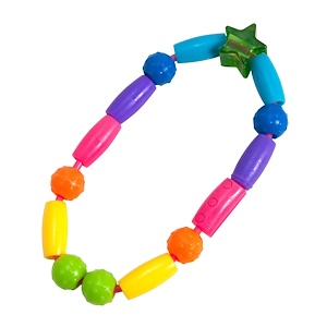 Зе ферст ерс, Bright Beads, Teething Toy, 3 + Months, 1 Teething Toy отзывы покупателей